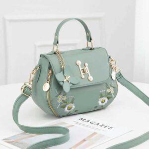 Floral embroidery Handbag SS77