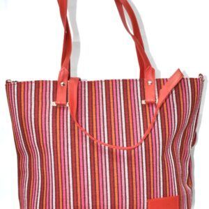 Stripe Thai Handbag SS84
