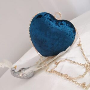 Wedding/ Evening Clutch Heart shape SF97