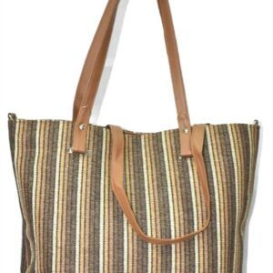 Stripe Thai Handbag SS84